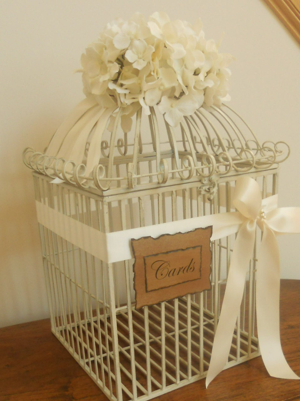 Wedding Card Box Birdcage / Wedding Birdcage Card Holder Extra