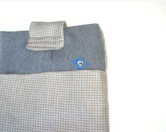 Eco Friendly IPad Case, IPad Case, IPad Sleeve, IPad Padded Case, IPad Repurposed Wool, Wool IPad Case, Owl IPad Sleeve