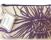 Cosmetic Prism Purse- Pattern Anemone Color WildPlum