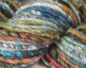 Noro Iro Silk Wool Yarn Color 112 Turquoise Orange Green 100g Bulky