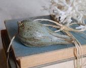 Hand Sculpted Malibu Beach Bird