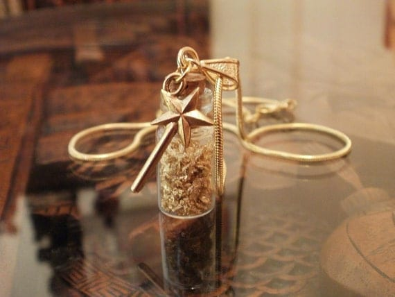 Fairy Dust Magic Wishing Necklace