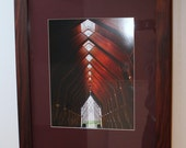Handcrafted Bolivian Rosewood Frame With 12 x 16 Digital Print