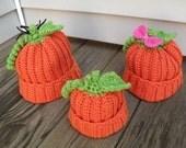 Personalized Pumpkin Hat