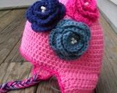 Triple Rose Hat