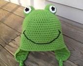 Froggie Face Hat
