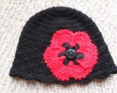 Poppy Flower Shell Cloche