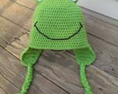 Froggie Hat Crochet Pattern