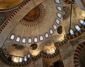 Architectural Photo, Ancient Church, Istanbul, Warm Color, 5 x 7