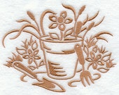 Simply Gardening Embroidered Flour Sack Hand/Dish Towel