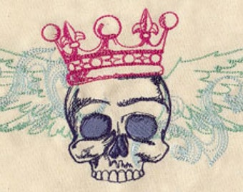 Ruler of All I Survey Embroidered Flour Sack Hand/Dish Towel