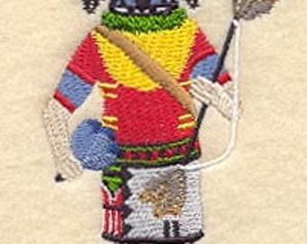 Humingbird Kachina Embroidered Flour Sack Hand/Dish Towel