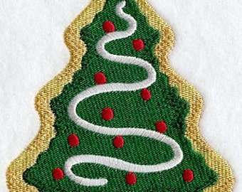 Christmas Tree Cookie Embroidered Flour Sack Hand/Dish Towel