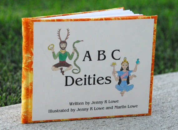 ABC Deities Children's Book Limited Special Edition