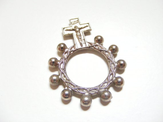 Vintage  Rosary Ring