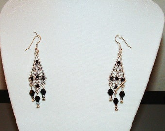 Black Diamond (Earrings)