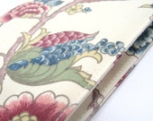 Diaries 2012, 2012 planner, Gifts under 35, A6 Notebook, covered journal, wedding planner, travel diary - Chinoiserie cream green pink blue