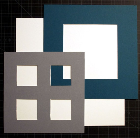 Custom Cut Photo Mat Fits Up to a 14X14 Frame