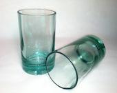 360 Vodka Recycled Bottle Tumbler Glasses - Set of 2