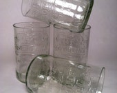 IBC Soft Drink Recycled Glass - Set of 4