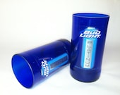 Bud Light Platinum Purple Recycled Glasses - Set of 2