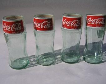 Recycled Coke Bottle Glass - Meduim - Set of 4