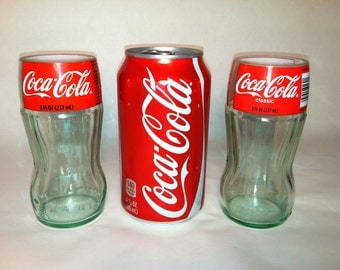 Recycled Coke Bottle Glasses - Mini - Set of 2