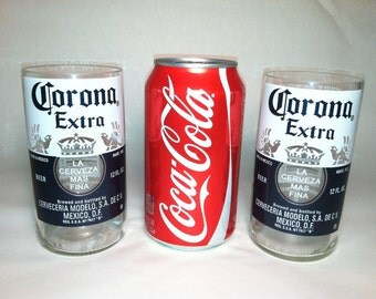 Corona Extra Recycled Glasses - Set of 2