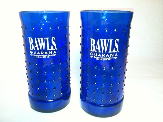 Bawls Recycled Bottle Glasses - Set of 2
