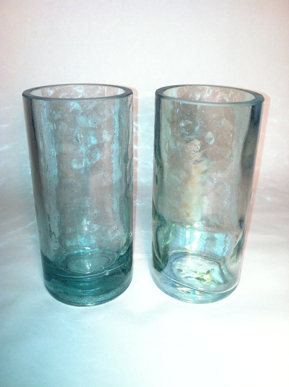 High West Distillery Recycled Bottle Glasses - Set of 2