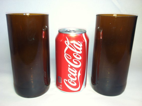 Recycled Epic Beer Bottle Glasses - Set of 2
