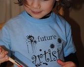 SALE  Future Artist kids t-shirt