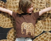 Elephant full of peanuts infant or toddler t shirt