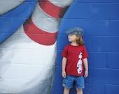 Bowling pin infant or toddler t shirt