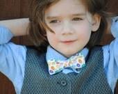 Easter jellybean clip on bow tie