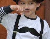 Moustache kids t-shirt