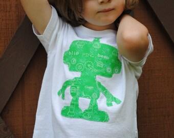 Robot infant or toddler t shirt