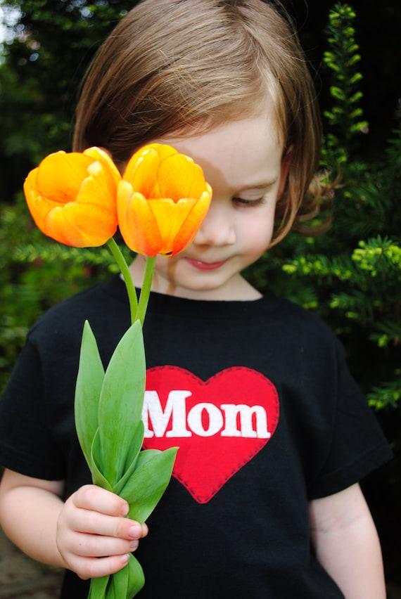 I heart Mom toddler t shirt