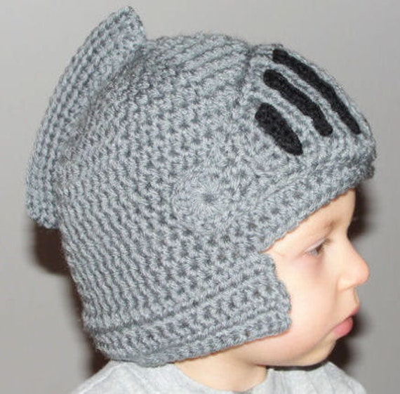 Crochet Pattern PDF - Sir Knight Helmet