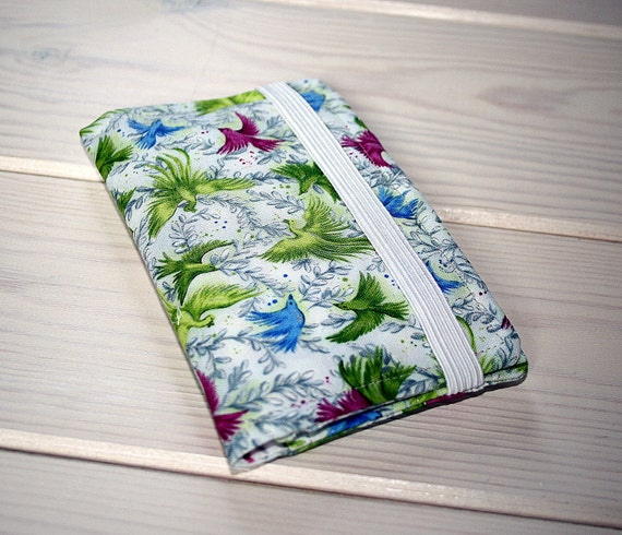 Birds of Paradise - IPhone 5 or 4 Fabric Wallet