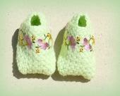 Fancy Toes Tommies Crocheted Baby Booties