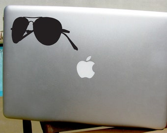 Aviator Sunglasses  Decal - Sticker - Car, Window, Laptop, Wall