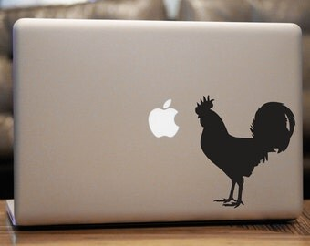 Rooster Decal, For Car Windows, Laptops, Walls etc.