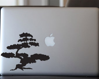 Bonsai Tree Decal - Banzai Vinyl Sticker - For Car, Window, Laptop, Wall