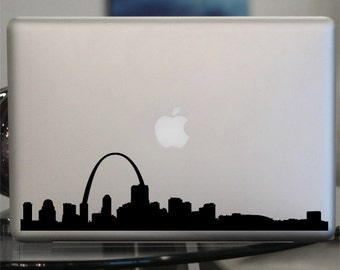 St. Louis  Skyline Decal - For Car Window,  Laptop, Wall