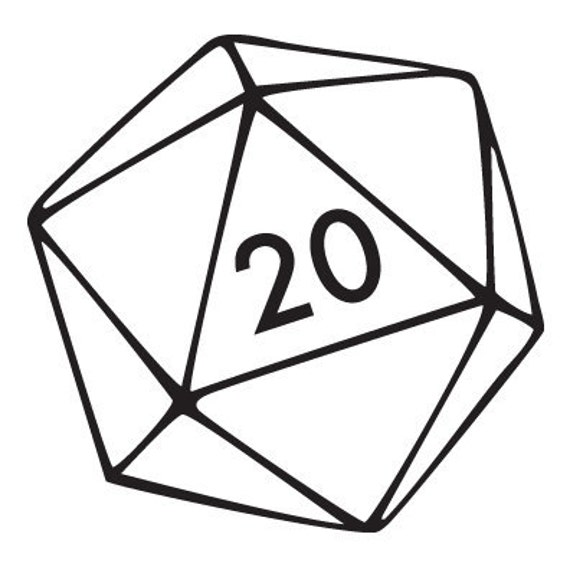 20 sided die name