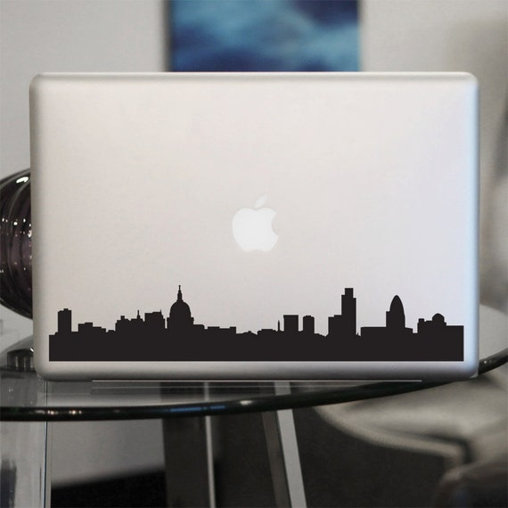 London Skyline Decal - England Vinyl Sticker - For Car, Window, Laptop, Wall