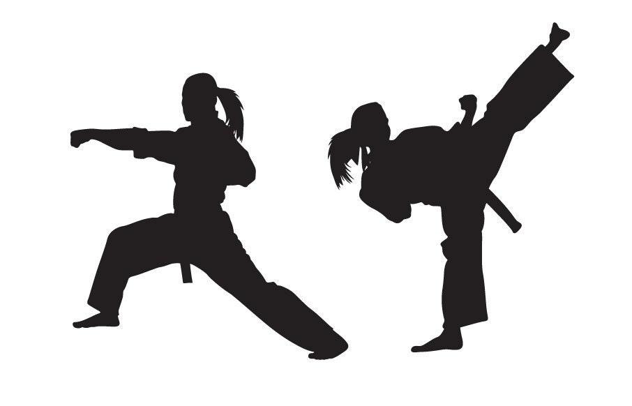 Alfa img - Showing > Karate Silhouette Clip Art