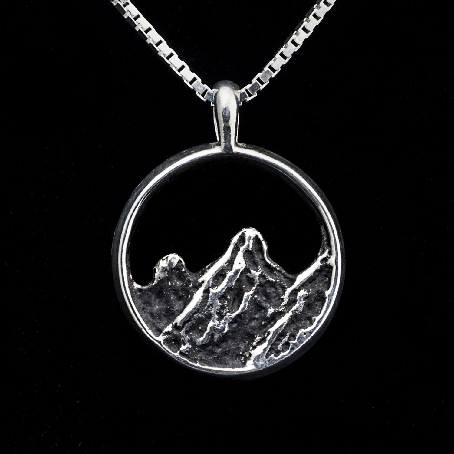 colorado mountain necklace sterling silver great. Black Bedroom Furniture Sets. Home Design Ideas