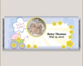 Baby Carriage Photo Candy Bar Wrappers
